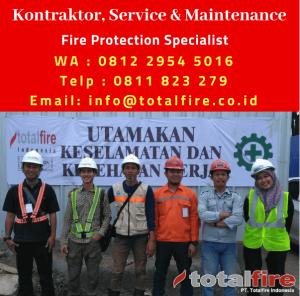kontraktor konsultan sistem fire fighting indonesia