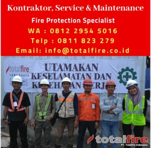 kontraktor fire protection indonesia jakarta pabrik gudang