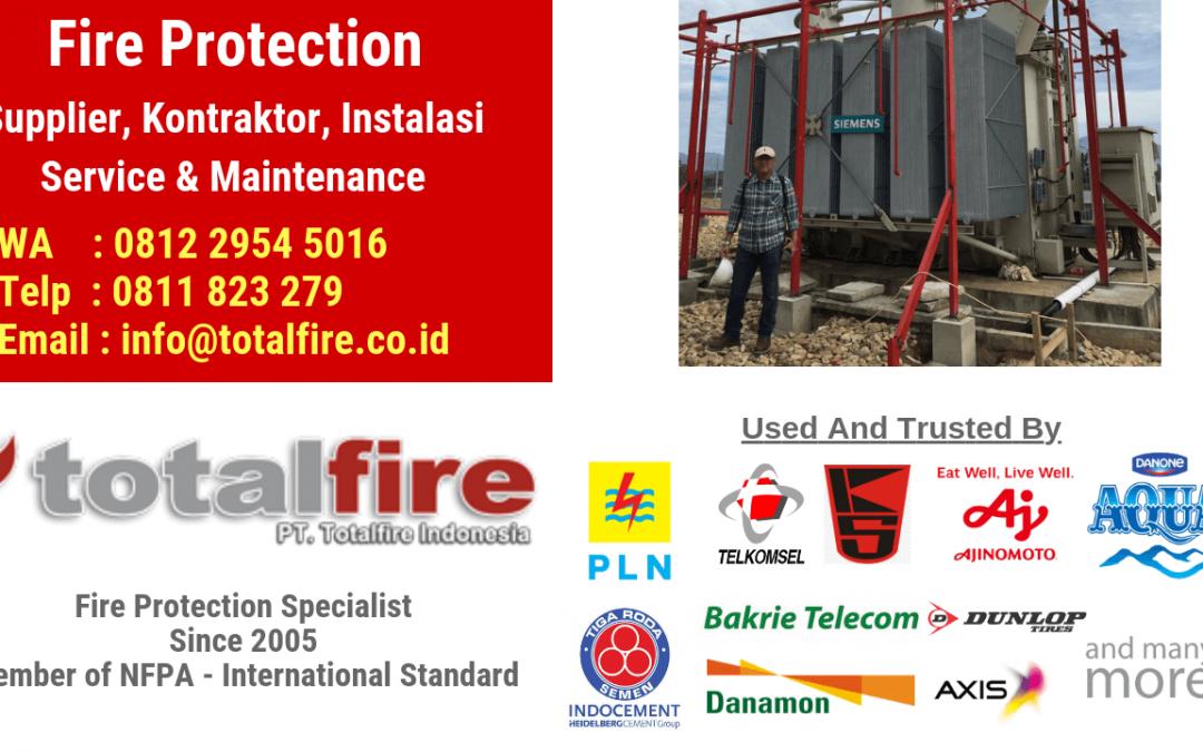 Tugas Dari Para Kontraktor Fire Protection Untuk Melindungi Bangunan