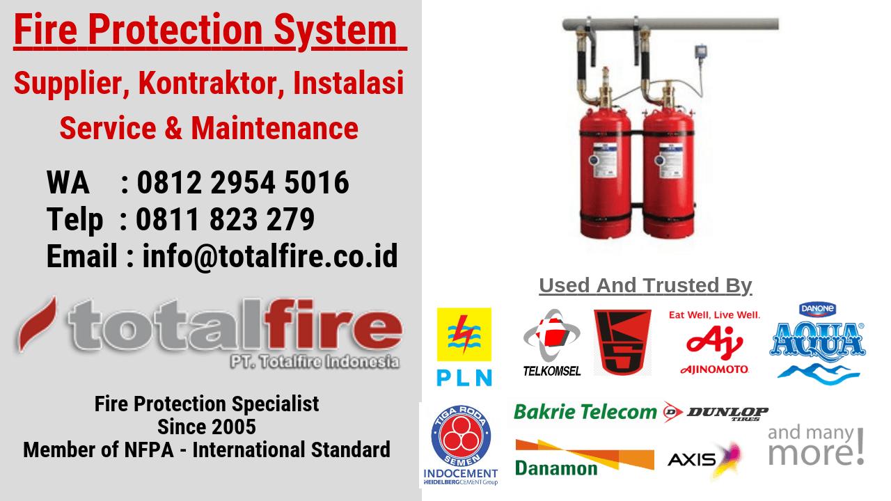 Flame detection system pencegah kebakaran pabrik gudang kantor