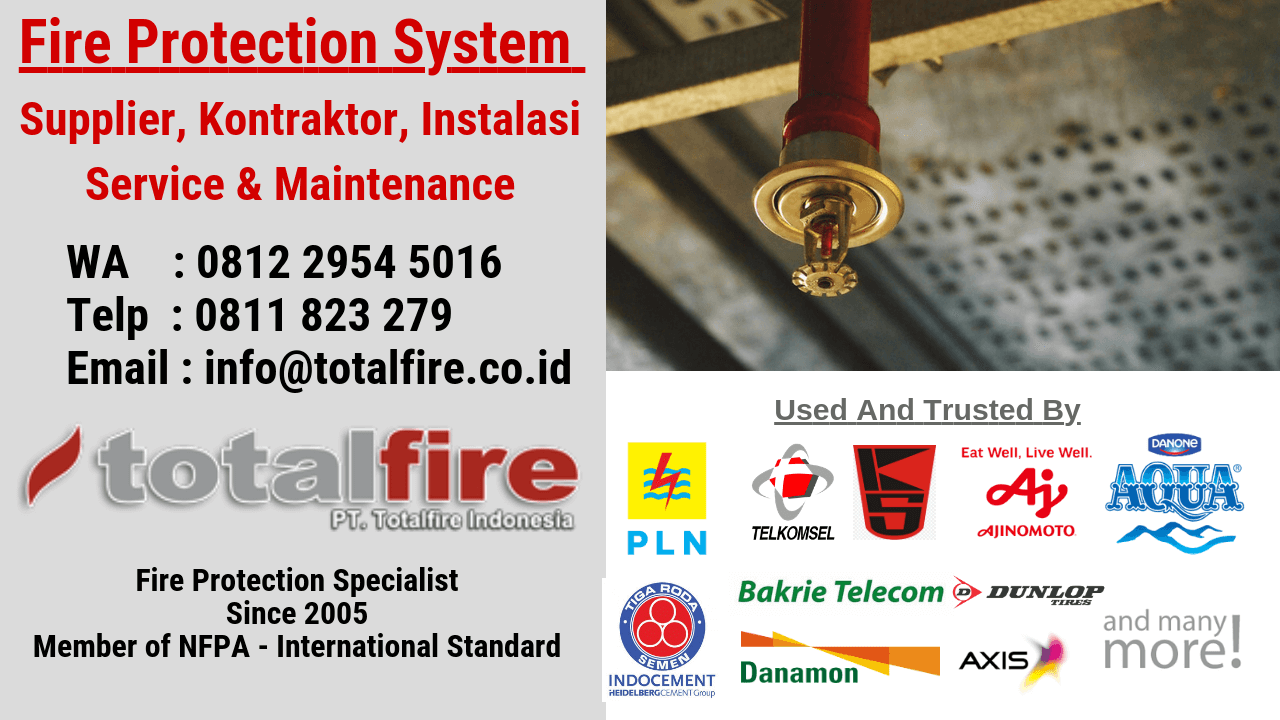 Find The Trusted Fire Hydrant Contractor Indonesia