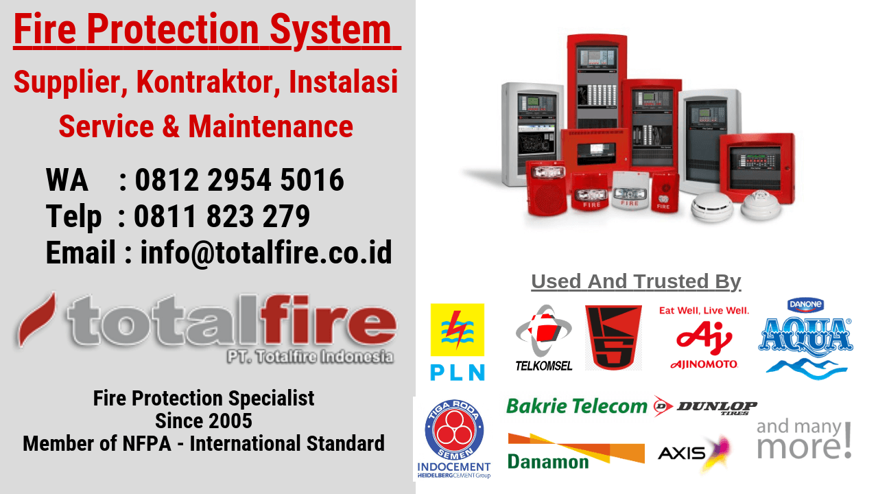 Kontraktor Gas Detection, Gas Detector, Fire detector, Flame detector