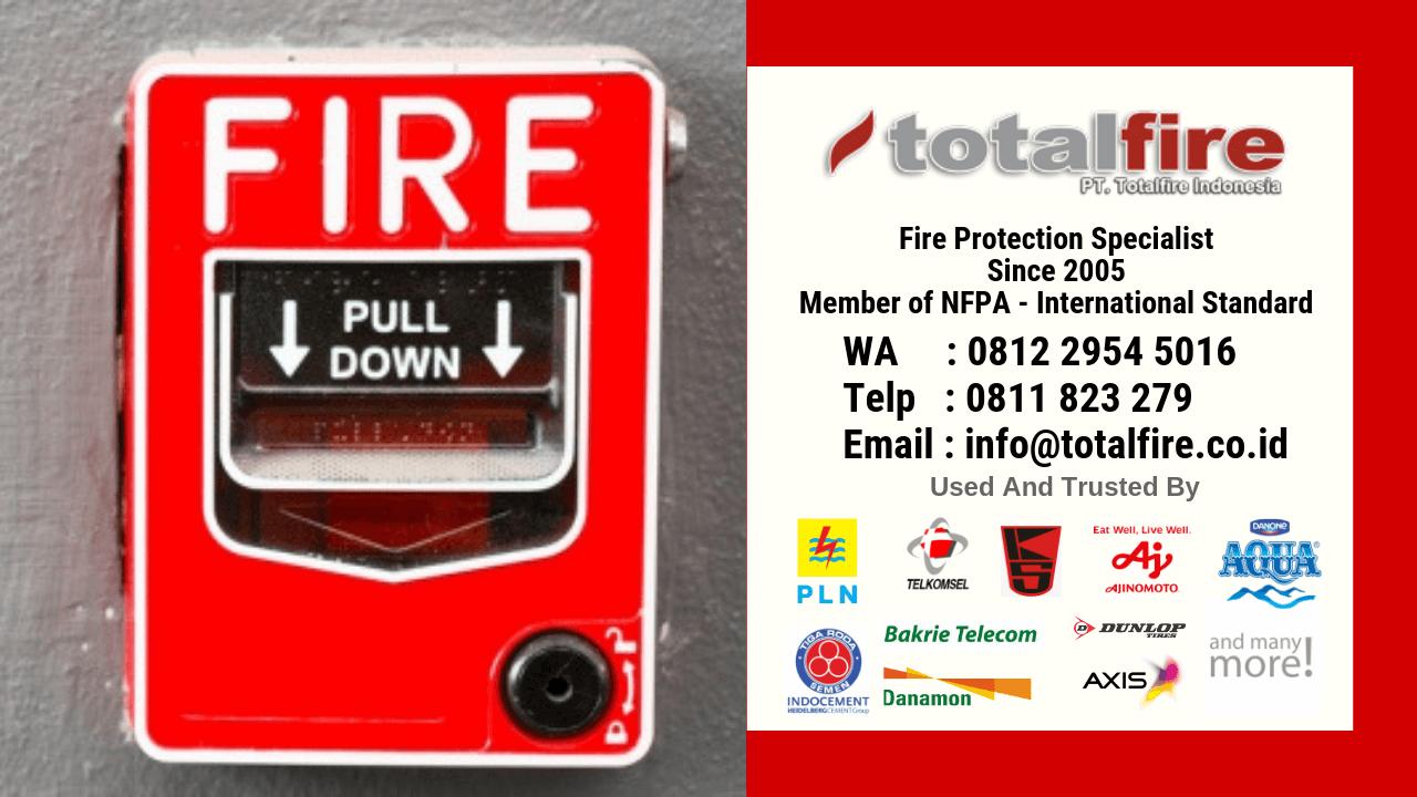 Jenis alarm kebakaran fungsi