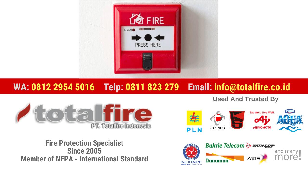jual alarm kebakaran gudang, harga alarm api, jenis alarm api