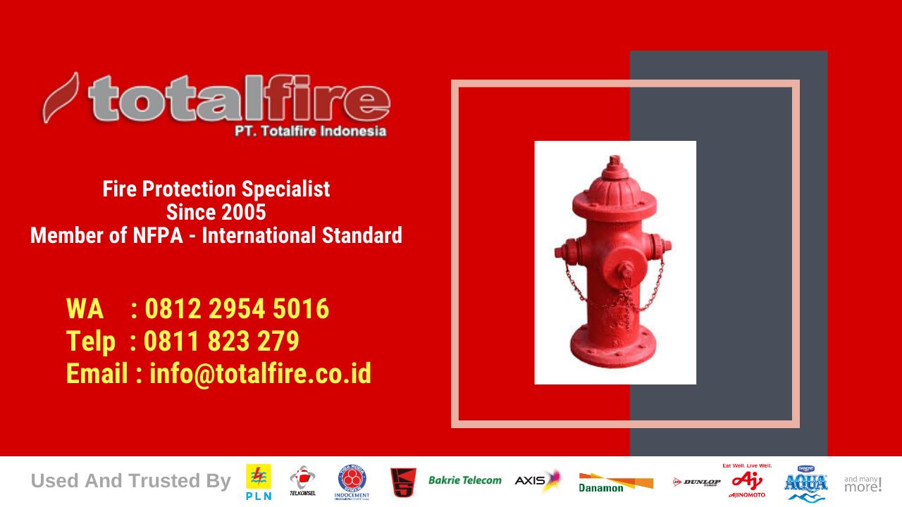 sistem proteksi kebakaran pabrik detektor kebakaran pabrik