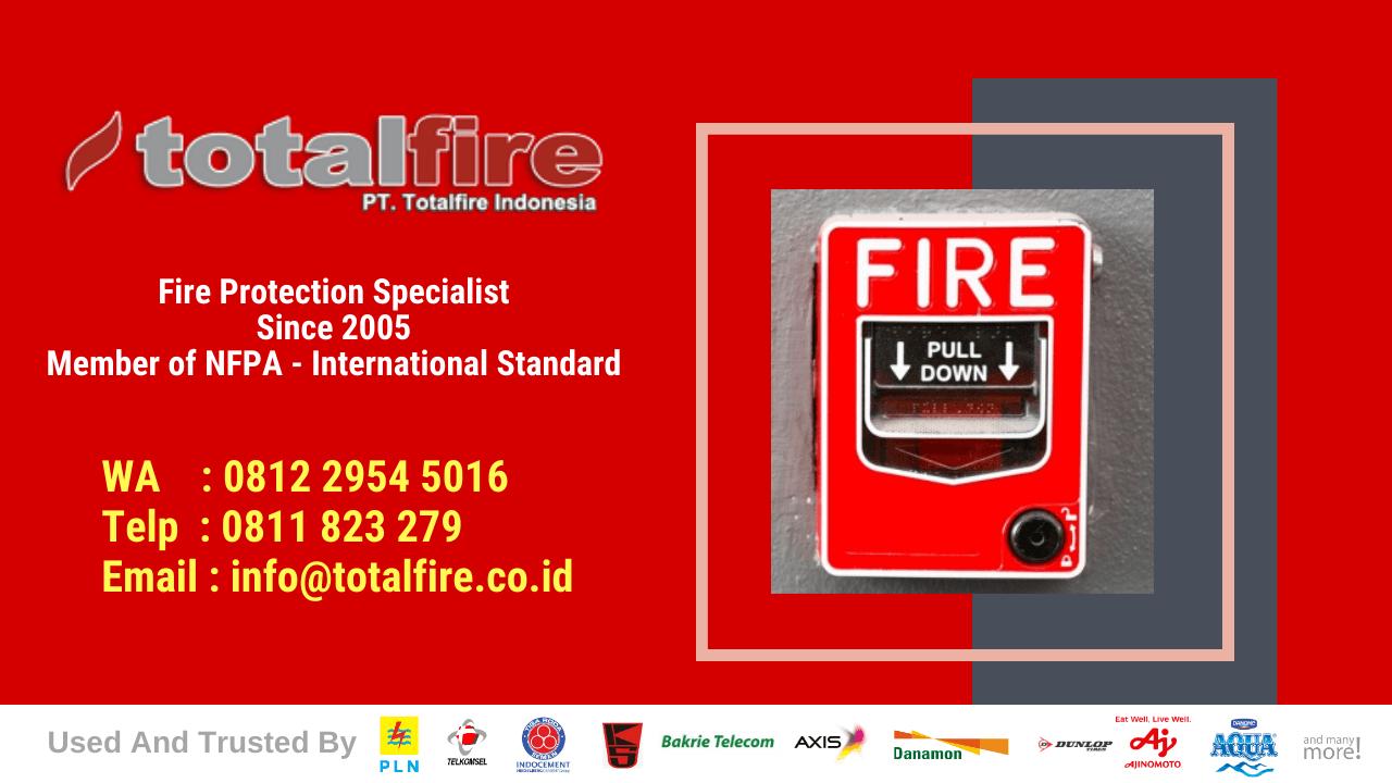 Jasa pemasangan fire alarm system kebakaran gudang surabaya