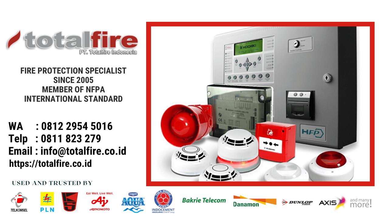 pengertian fire alarm system sistem alarm api kebakaran