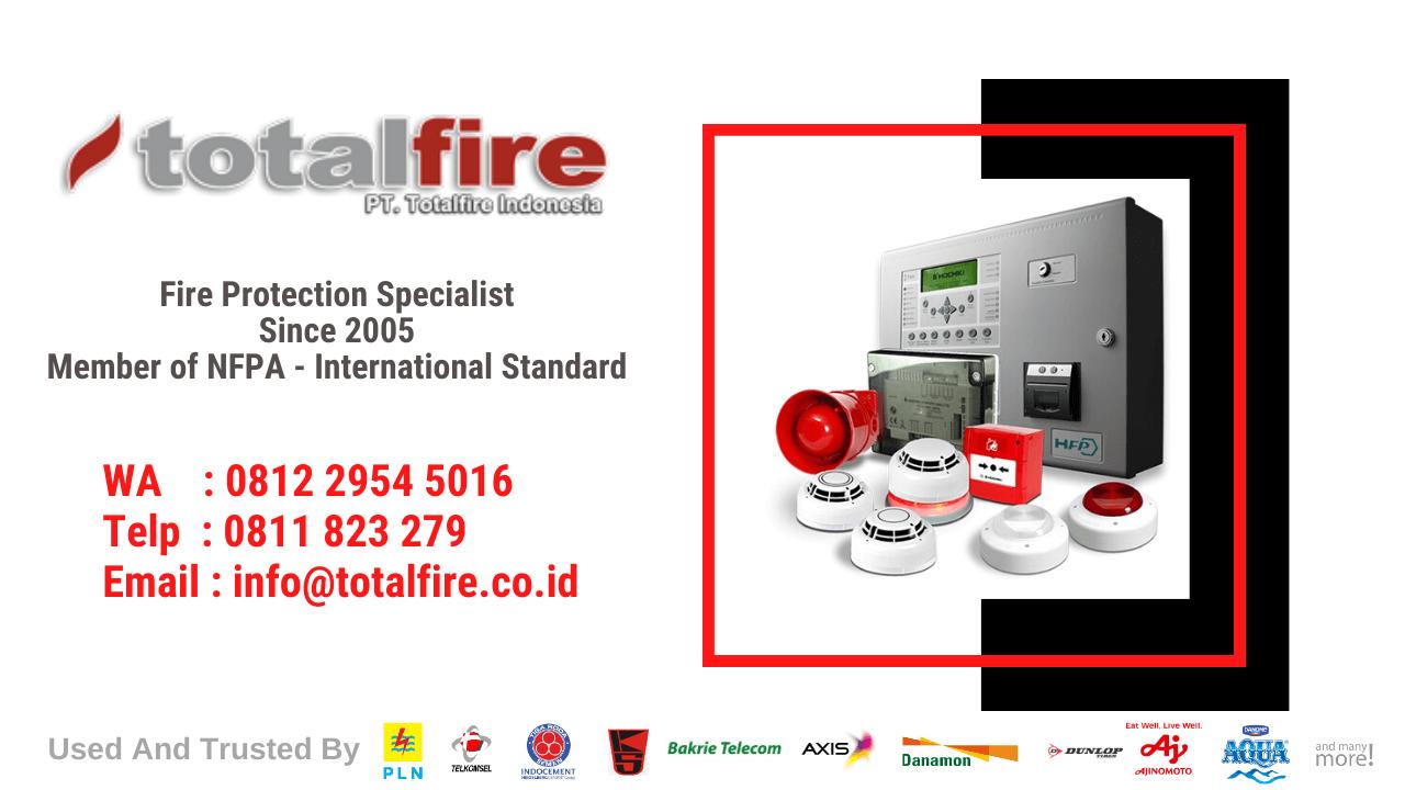 panel alarm kebakaran bank, gudang, gedung, rumah, kantor