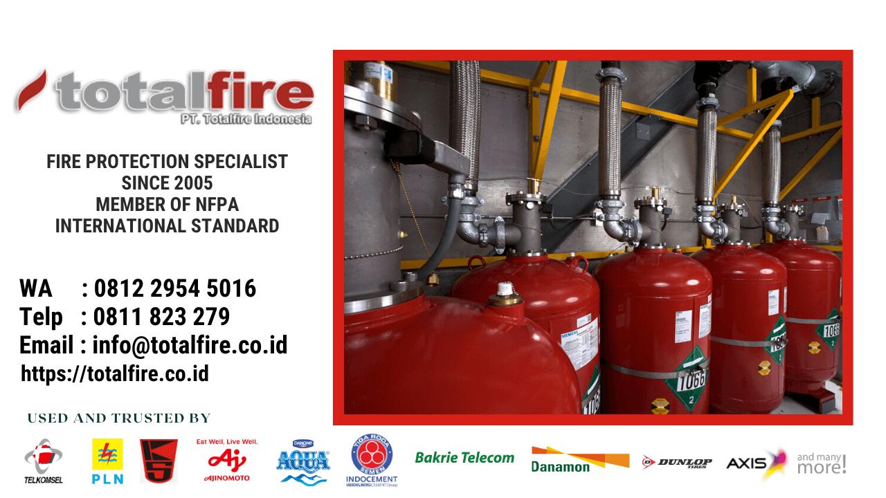 instalasi hidran kebakaran pabrik gudang gedung