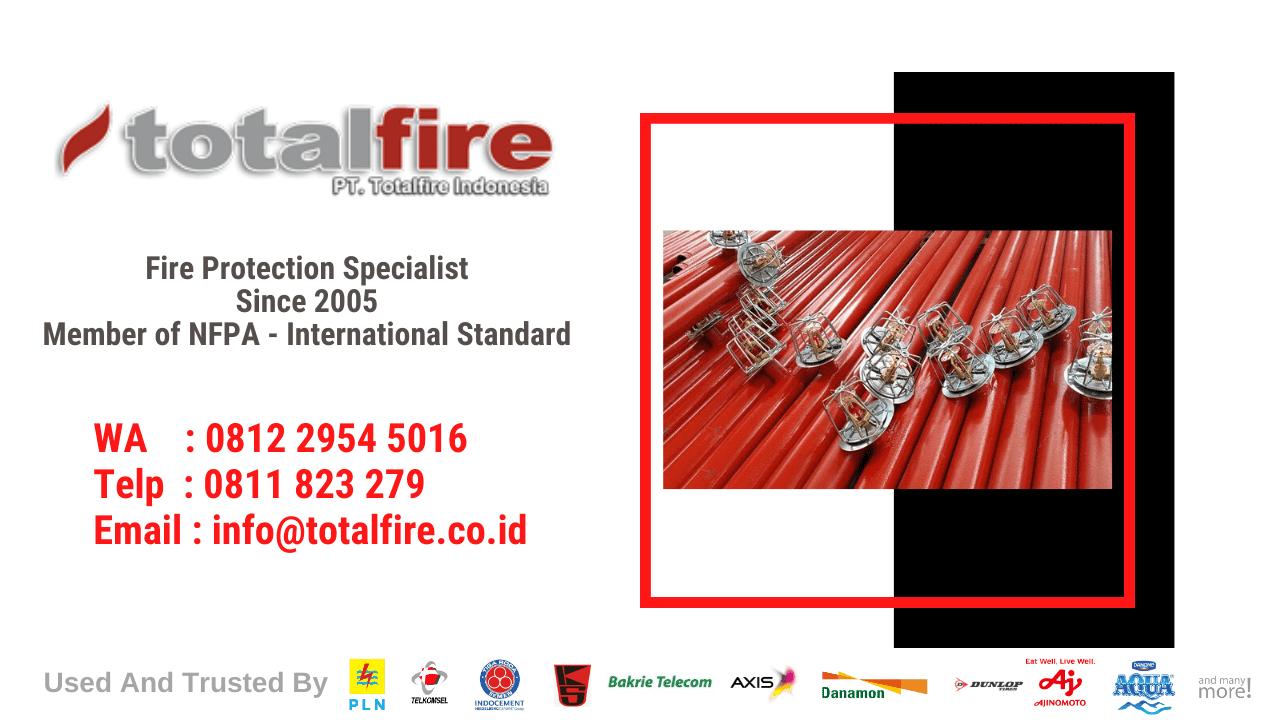 alat alat sistem manajemen kebakaran kontraktor pemadam kebakaran fm200 novec foam system