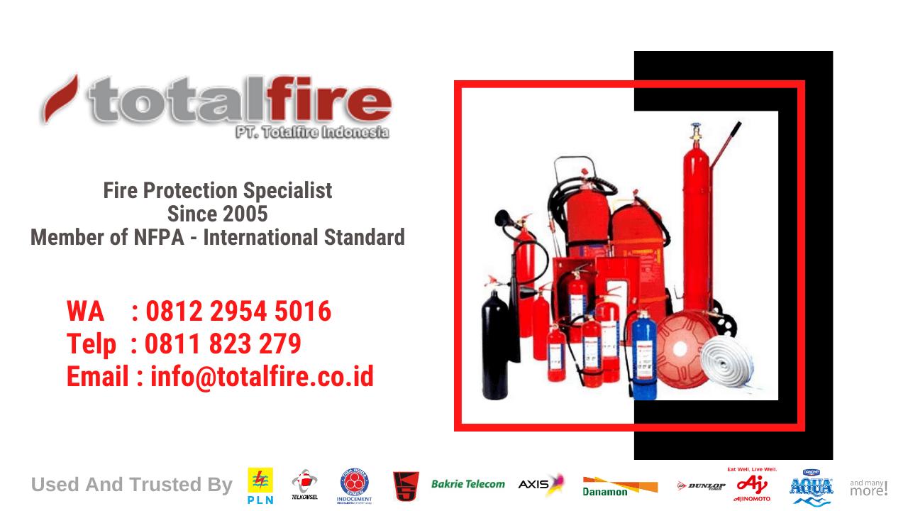 cara penggunaan fire extinguisher pemadam kebakaran