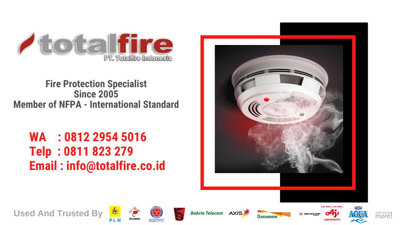 sistem kebakaran aktif adalah pencegah kebakaran di pabrik gudang gedung