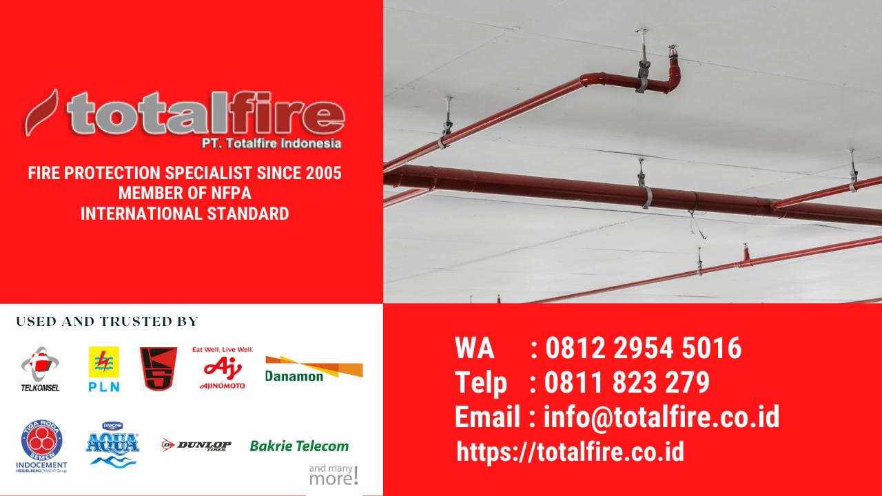 Cara proteksi kebakaran fire alarm system fire sprinkler